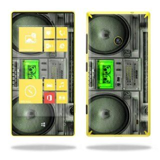 Protective Vinyl Skin Decal Cover for Nokia Lumia 520 Cell Phone T Mobile Sticker Skins Boombox Cell Phones & Accessories