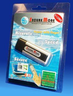 Secure Mobe Fingerprint USB flash disk 512 MB  Biometric Fingerprint Analyzers  Camera & Photo