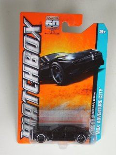 Fisker Karma Ever (Black) Diecast Car (Matchbox)(2012)