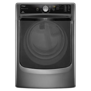Maytag Maxima X 7.4 cu. ft. Electric Dryer with Steam in Granite MED4200BG