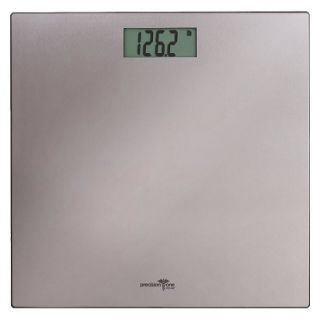 Precision One Stainless Steel on Glass LCD Digital Scale