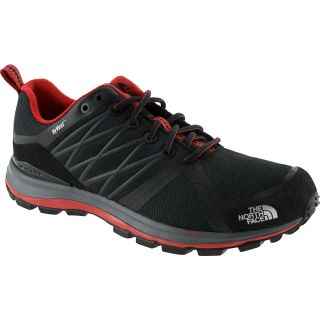 THE NORTH FACE Mens Lite Wave Guide Low Trail Shoes   Size 9.5, Black/red