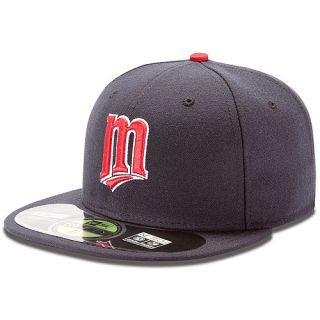 NEW ERA Mens Minnesota Twins Authentic Collection Alternate 59FIFTY Fitted Cap