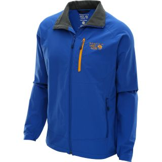 MOUNTAIN HARDWEAR Mens Chockstone Softshell Jacket   Size Xl, Azul