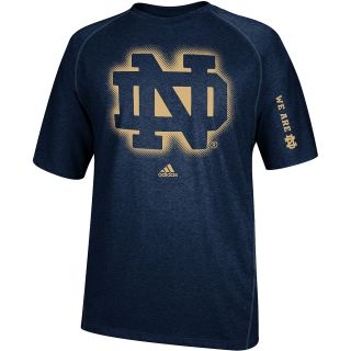 adidas Mens Notre Dame Fighting Irish ClimaLite Sideline Elude Short Sleeve T