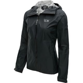 MOUNTAIN HARDWEAR Womens Plasmic Full Zip Jacket   Size Small, Black