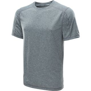 CHAMPION Mens PowerTrain Heather Short Sleeve T Shirt   Size 2xl, Grey Heather