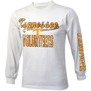 adidas Youth Tennessee Volunteers Printed Crew Long Sleeve Shirt   Size Small,