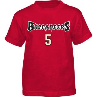 NFL Team Apparel Youth Tampa Bay Buccaneers Josh Freeman Primary Gear Name and