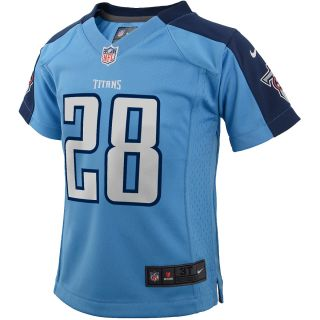 NIKE Youth Tennessee Titans Chris Johnson Game Jersey, Ages 4 7   Size Large