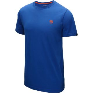 MOUNTAIN HARDWEAR Mens MHW Logo Short Sleeve T Shirt   Size Small, Azul