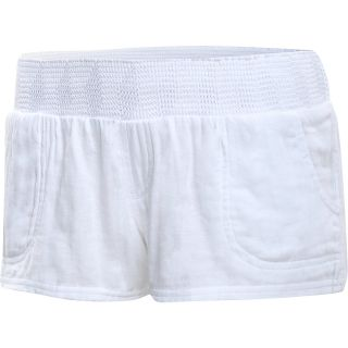 RIP CURL Womens Whisper Shorts   Size Xl, White