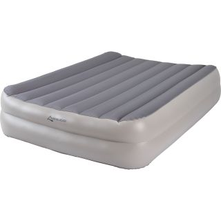 ALPINE DESIGN Heavy Duty Queen Air Bed with Air Pump, Brown