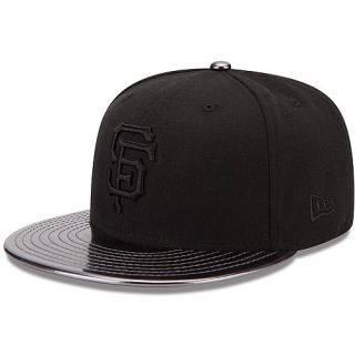 NEW ERA Mens San Francisco Giants MeddleD Solid Color 59FIFTY Fitted Cap