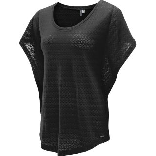 RIP CURL Womens Ziggy Poncho T Shirt   Size Medium, Black