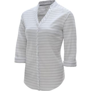 MOUNTAIN HARDWEAR Womens DaraLake Gauze Long Sleeve Shirt   Size Medium, White