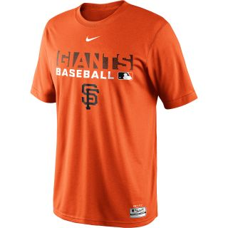 NIKE Mens San Francisco Giants Dri FIT Legend Team Issue Short Sleeve T Shirt