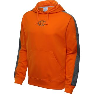 CHAMPION Mens PowerTrain Tech Fleece Pullover Hoodie   Size Large, Persimmon