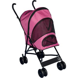 Pet Gear Travel Lite Pet Stroller, Pink (TL8100PK)