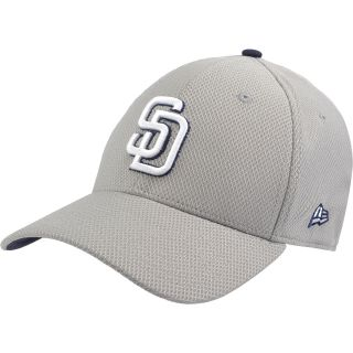 NEW ERA Mens San Diego Padres Custom Design 39THIRTY Stretch Fit Cap   Size