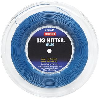 Tourna Big Hitter Blue 17g String   Size Each, Blue (BHB 200 17)
