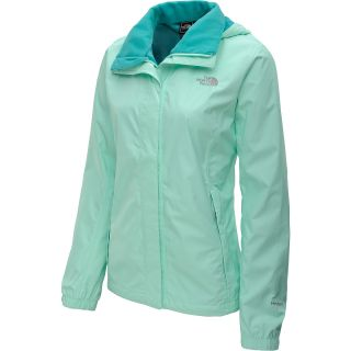 THE NORTH FACE Womens Resolve Rain Jacket   Size Small, Beach Glass Green