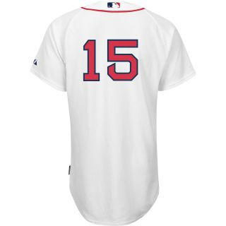 Majestic Athletic Boston Red Sox Dustin Pedroia Authentic Cool Base Home Jersey