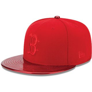 NEW ERA Mens Boston Red Sox MeddleD Solid Color 59FIFTY Fitted Cap   Size 7.