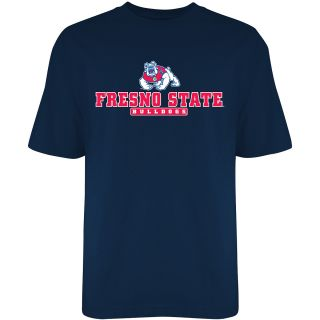 T SHIRT INTERNATIONAL Mens Fresno State Bulldogs Reload Short Sleeve T Shirt