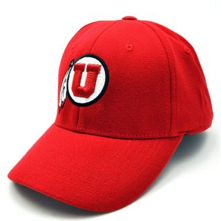Top of the World Premium Collection Utah Utes One Fit Hat   Size 1 fit Hat,