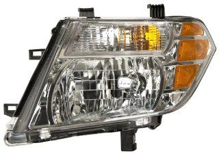 OE Replacement Nissan/Datsun Pathfinder Driver Side Headlight Assembly Composite (Partslink Number NI2502171) Automotive