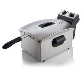 Oster CKSTDFZM77 4 Liter Cool Zone Deep Fryer, Stainless Steel Kitchen & Dining