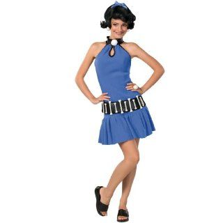 Lets Party By Rubies Costumes Betty Rubble Teen Costume / Blue   Size Teen  Other Products