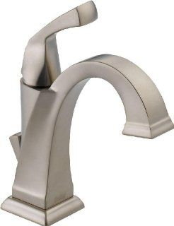 Delta 551 SS DST Dryden Single Handle Centerset Lavatory Faucet, Stainless   Touch On Bathroom Sink Faucets