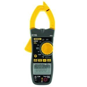 General Tools Heavy Duty 7500 Volt Clamp Meter with 600 Amp True RMS and Dual Readout CM660