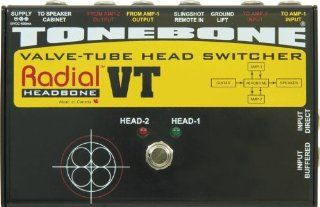 Radial Headbone VT Amp Head Switcher for Tube Amps Musical Instruments