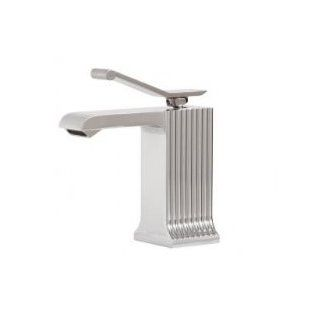 Aqua Brass 43214 Single Hole Lavatory Faucet   Touch On Bathroom Sink Faucets