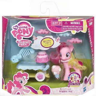 My Little Pony Friendship Is Magic Bridesmaid Pony Figure Playset   Pinkie Pie Toys & Games