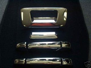 Mirror Polish Chrome Door Handle Cover   GMC Sierra Extended & Single Cab 07 08 Automotive