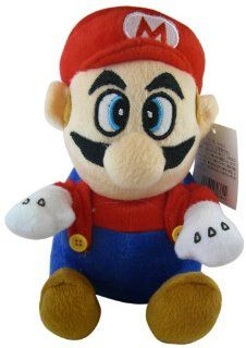Mario Plush Doll   Nintendo Mario Stuffed Animal Plush With Suction Cup (7in) Toys & Games