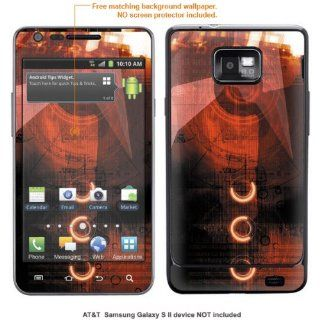 InvisibleDefenders Protective Decal Skin STICKER for Samsung Galaxy S II (AT&T U.S. version) case cover TgalaxysII 570 Cell Phones & Accessories