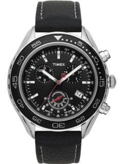 Timex SL Series Chronograph Black Dial Men's watch #T2N592 Watches