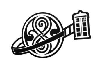Tardis   Time Lord Symbol   DW   Vinyl Decal