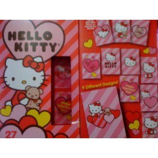 Sanrio Hello Kitty 27 Hologram Lenticular Valentines Day Cards Toys & Games