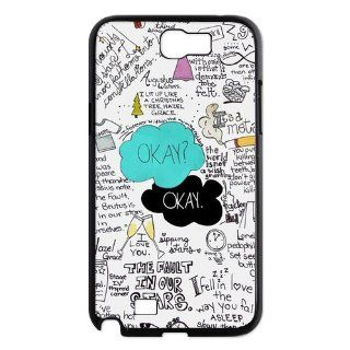 Creative Funny Okay The Fault in Our Stars Samsung Galaxy Note II N7100 Case Durable Snop On Cover Case for Samsung Note 2 II N7100 N2TF04 Cell Phones & Accessories
