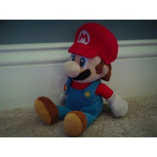 "Super Mario Plush   8"" Mario Soft Stuffed Plush Toy (Japanese Import) Toys & Games"