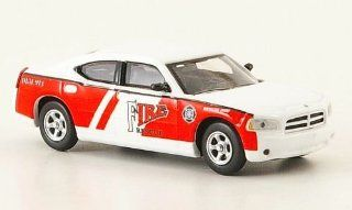 Dodge Charger, Fire Rescue Battalion Chief, Fire brigade , Model Car, Ready made, Ricko 187 Ricko Toys & Games