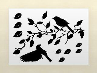 Flying Birds & Tree Removable Vinyl Home Wall Art Sticker Decals   Wall Decor Stickers