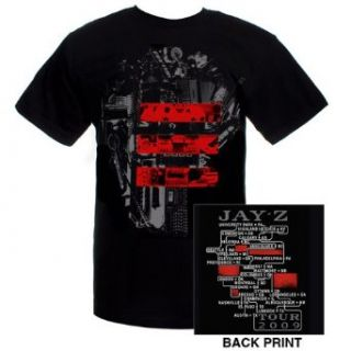 Jay Z Blueprint 3 Tour 2010 T Shirt Tee Mens Large Black Novelty T Shirts Clothing