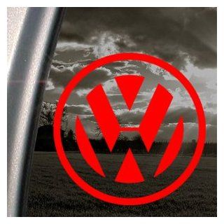 Volkswagen Red Decal Jetta Beetle Truck Window Red Sticker Automotive